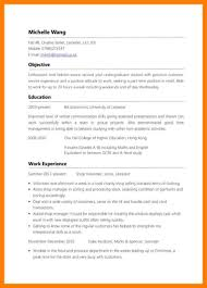 resume for part time jobs in uk how to write resume for first part time job good make a profile