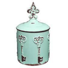 amazon com vintage style key u0026 fleur de lis design cyan blue