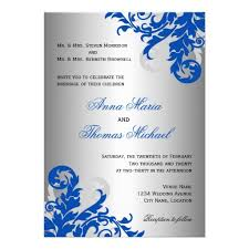 silver and royal blue wedding royal blue and silver wedding invitations dancemomsinfo com