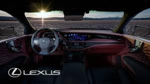 lexus interior lexus ls 500h u2013 interior design youtube
