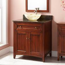 antique bathroom vanity with vessel sink 423126 30 bathroom vanity