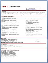 Creative Resume Sample by Film Production Resume Template Download Creative Resume Design