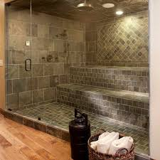 Shower Tile Patterns Design Also Slope Towards The Shower - Bathroom tile designs patterns