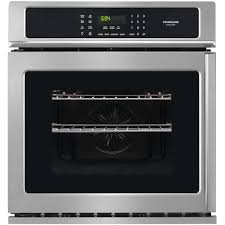 whirlpool 27 in single electric wall oven self cleaning in