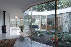 interior courtyard modern garden natural design