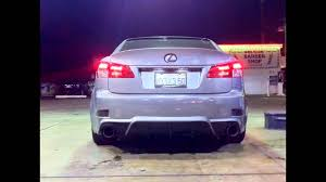 lexus is lip spoiler 06 11 lexus is250 is350 4 dr add on black pu rear bumper lip