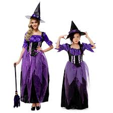 Mother Daughter Matching Halloween Costumes Buy Wholesale Witch Family China Witch Family