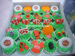 simply delicious cakes manchester united cupcakes