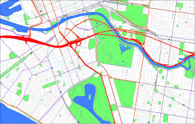 Royal Botanical Gardens Melbourne Map Transport Topography Callpoint Spatial