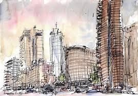 seoul urban sketchers sketches around seoul plaza with florence