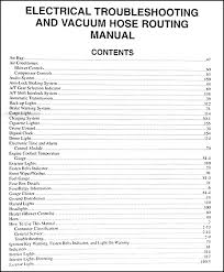 1999 2000 kia sportage electrical troubleshooting manual original