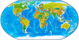 Map Of Globe Map Of World Clipart Collection