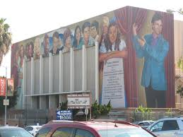hollywood deadwrite s dailies a mural along highland avenue features some of the famous alumni of hollywood high