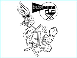 bugs bunny coloring looney tunes spot coloring pages