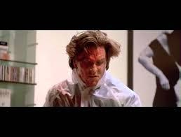 Christian Bale Axe Meme - american psycho axe scene hd youtube