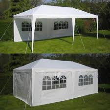 12 X 20 Canopy Tent by Backyard Patio Party Party Tents