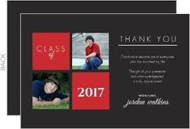 graduation thank you card cheap graduation thank you cards invite shop