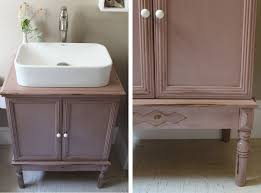 before after romantic bathroom re do paper and stitch and