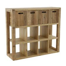 meuble egouttoir vaisselle meuble de rangement en bois avec tiroirs en option et 12 niches