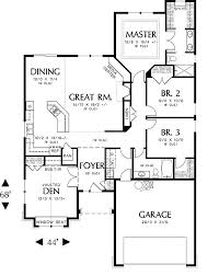 Craftsman Style Homes Floor Plans 171 Best Home Ideas Images On Pinterest House Floor Plans Dream
