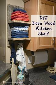 barn wood kitchen shelf sweet tea u0026 saving grace