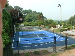 Backyard Basketball Half Court Sport Courts Images And Picture Gallery Indoor And Outdoor Courts