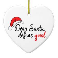 dear santa define ornaments zazzle ca