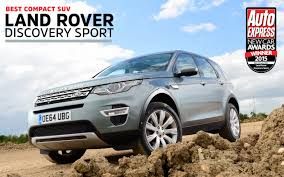 land rover suv sport compact suv of the year 2015 land rover discovery sport auto
