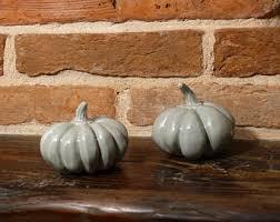 ceramic pumpkins ceramic pumpkins etsy