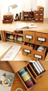 Orange Desk Accessories by Best 25 Stationary Storage Ideas On Pinterest Desk Storage