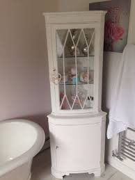 Shabby Chic Corner Cabinet by Shabby Chic Corner Unit In Chalk White Profes In Leicester