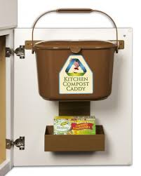 cabinet door mounted compost bin house pinterest composting