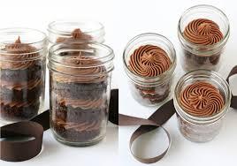 chocolate cupcakes in a jar u2013 glorious treats