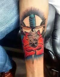 50 sword tattoos for men a sharp sense of sophistication