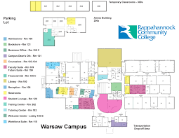 Nc State Campus Map Warsaw Campus Rappahannock Community College