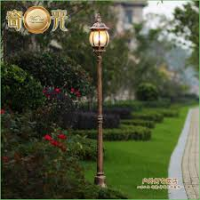 lighting post lights with pole solar l post light fixture for