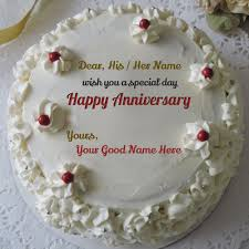 Wedding Cake Quotes Marriage Anniversary Wishes With Names