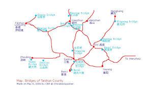 bridges of county map chinabackpacker com zhejiang taishun bridges 泰顺