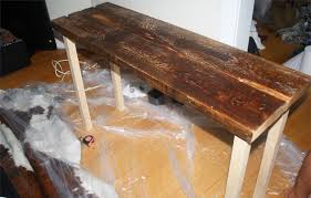 diy reclaimed wood table isn u0027t that charming