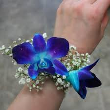 blue orchid corsage corsage with blue orchids w flowers ottawa