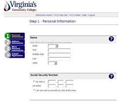 apply online application for admission northern virginia