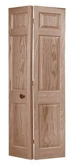 6 Panel Bifold Closet Doors Mastercraft 36 X 80 Unfinished 6 Panel Oak 2 Leaf Bifold Door At