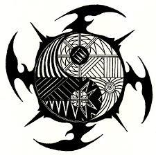 tribal essence razor yin yang by forgottenarts on deviantart