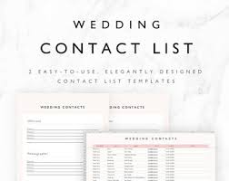 wedding planning list template wedding planning template pack for excel