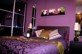 Bedroom Inviting Design Of Purple Pink Bedroom Interior For Women - Bedroom design purple