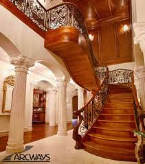 Custom Staircase Design Arcways Custom Stair Manufacturer In Washington D C