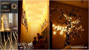 Home Made Decoration 27 Incredible Diy Christmas Lights Decorating Projects