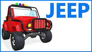 jeep bike kids cartoon jeep for kids toys for children educational videos
