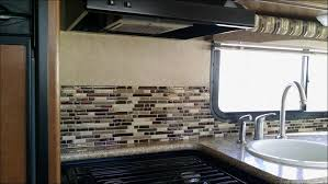 peel and stick glass tile backsplash kitchen backsplash