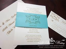 tiffany blue wedding invitation u2013 a vibrant wedding